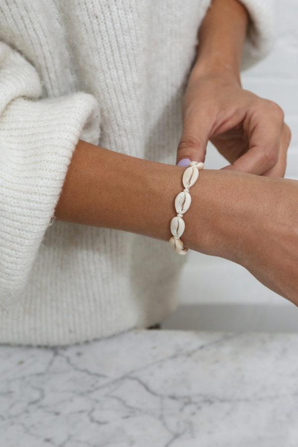 schelpen armbandje shell bracelet amed