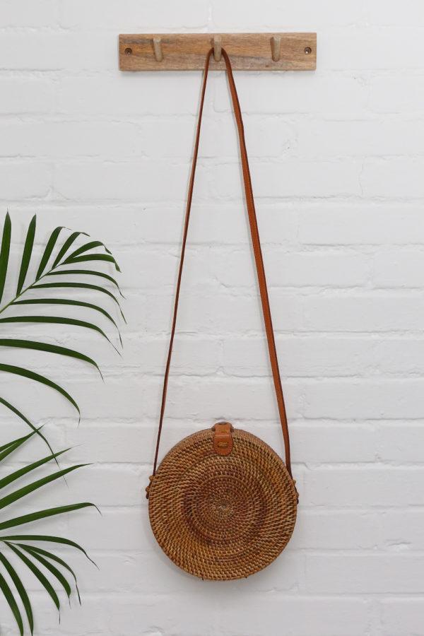 Round Bali Bag Nusa bruin