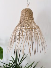 bamboe lampenkap